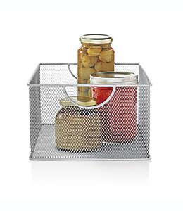 Organizador grande para alacena de malla  ORG™ color plata