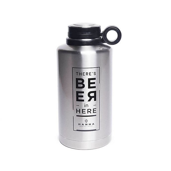 Manna Quot There S Beer In Here Quot 64 Oz Ring Vacuum Insulated
