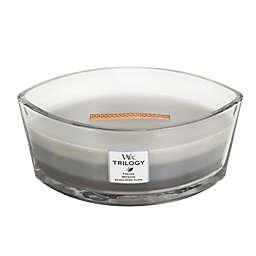WoodWick® Trilogy Warm Woods Large Oval Jar Candle