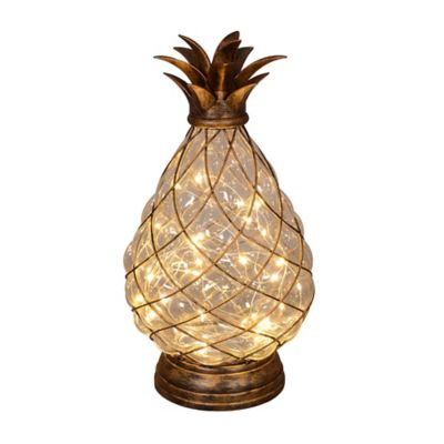 30 Light Led Glass Pineapple Bed Bath Amp Beyond