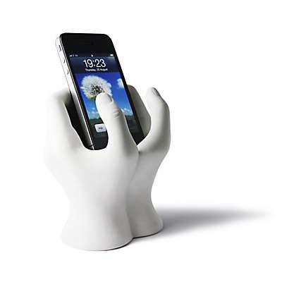 Danya B. Hands Mobile Device Holder in White
