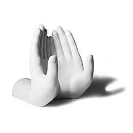 Danya B. Hands Book or Tablet Holder in White