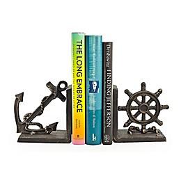 Danya B. Nautical Bookend Set in Brown