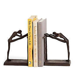 Danya B. Ballerina Bookends in Brown (Set of 2)