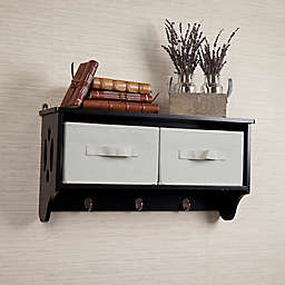 Entryway Cubby Shelf For Storage With Hooks Bed Bath Beyond
