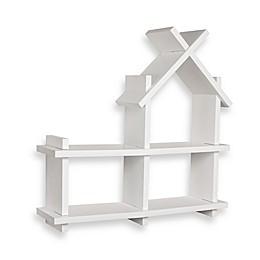 Danya B.™ House Design Floating Shelf in White