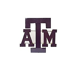 Texas A&M University Recycled Metal Wall Décor