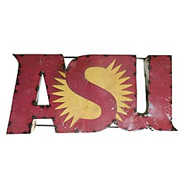 Arizona State University Recycled Metal Wall Décor