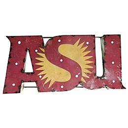 Arizona State University Illuminated Recycled Metal Wall Décor
