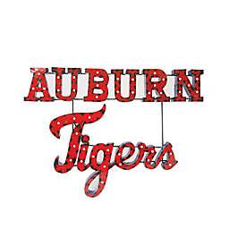 Auburn University Tigers Illuminated Recycled Metal Wall Décor