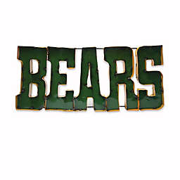"""Baylor University """"Bears"""" Recycled Metal Wall Décor"""