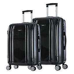 InUSA SouthWorld 2-Piece Hardside Spinner Luggage Set