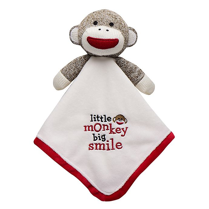 Alternate image 1 for Baby Starters® Sock Monkey Snuggle Buddy with Blanket