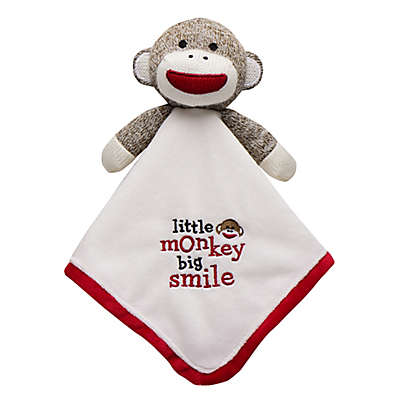 Baby Starters® Sock Monkey Snuggle Buddy with Blanket