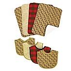 Trend Lab® 8-Piece Northwoods Bib and Burp Cloth Set