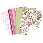 Trend Lab® 4-Piece Paisley Park Burp Cloth Set