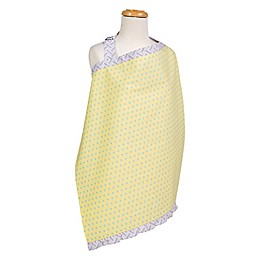 Trend Lab® Triangles Nursing Cover in Yellow