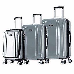 InUSA SouthWorld 3-Piece Spinner Suitcase Set