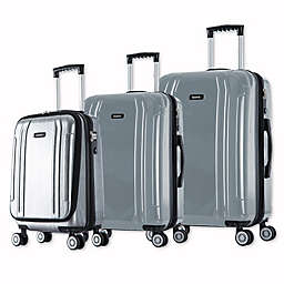 InUSA SouthWorld 3-Piece Spinner Suitcase Set