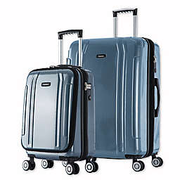 InUSA SouthWorld 2-Piece Spinner Luggage Set with 19-Inch Carry-On and 23-Inch Suitcase
