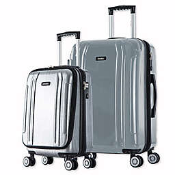 InUSA SouthWorld 2-Piece Spinner Luggage Set with 19-Inch Carry-On and 27-Inch Suitcase
