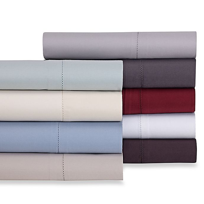 Alternate image 1 for Wamsutta® 525-Thread-Count PimaCott® Wrinkle Resistant Flat Sheet