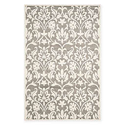 Safavieh Amherst Kendell Indoor/Outdoor Area Rug in Dark Grey/Beige