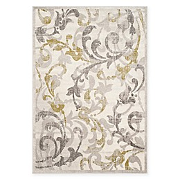 Safavieh Amherst Erin Indoor/Outdoor Rug in Ivory/Grey
