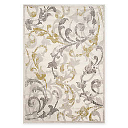 Safavieh Amherst Erin 8-Foot x 10-Foot Indoor/Outdoor Area Rug in Ivory/Grey