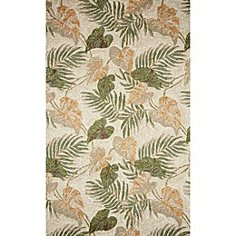 Liora Manne Ravella Tropical Leaf Indoor/Outdoor Rug