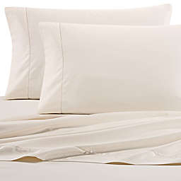 Wamsutta® PimaCott® Solid 525-Thread-Count Twin XL Flat Sheet in Ivory