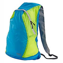 Lewis N. Clark Electrolight™ Backpack in Blue Neon/Lemon Blue