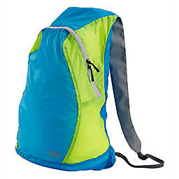 Lewis N. Clark Electrolight™ Backpack in Blue Neon/Lemon Blue