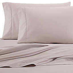 Wamsutta® PimaCott® Solid 525-Thread-Count Twin XL Fitted Sheet in Silver