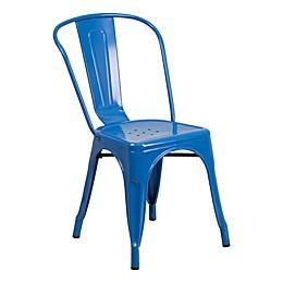 Flash Furniture Indoor/Outdoor Stackable Metal Chair