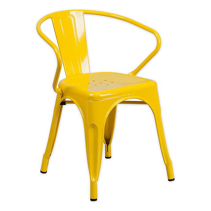 Alternate image 1 for Flash Furniture Metal Chair with Arms