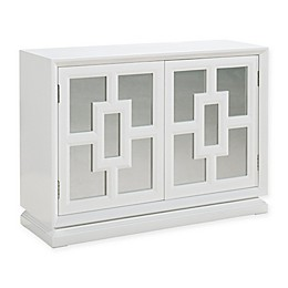 Pulaski Melanie Wine Cabinet in White