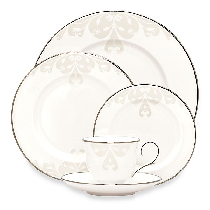 Alternate image 1 for Lenox® Opal Innocence™ Scroll Dinnerware Collection