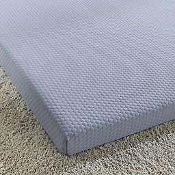 Simmons® Siesta 3-Inch Roll-Up Memory Foam Twin Mattress in Blue