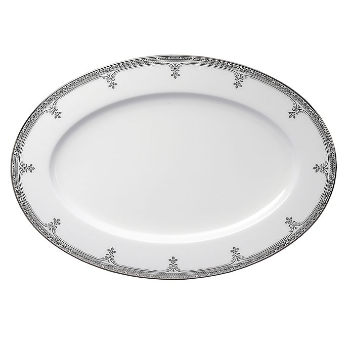 Alternate image 1 for Oneida® Michelangelo Platinum 14-Inch Oval Platter