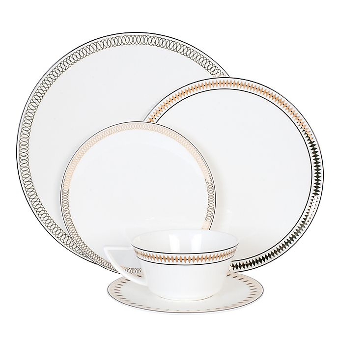 Alternate image 1 for Olivia & Oliver® Madison Parker 5-Piece Place Setting