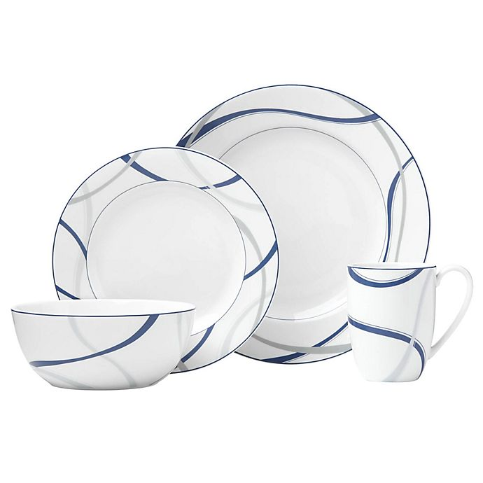 Alternate image 1 for Lenox® Vibe™ Dinnerware Collection in Blue