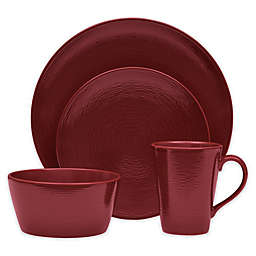 Noritake® Red on Red Swirl Coupe Dinnerware Collection