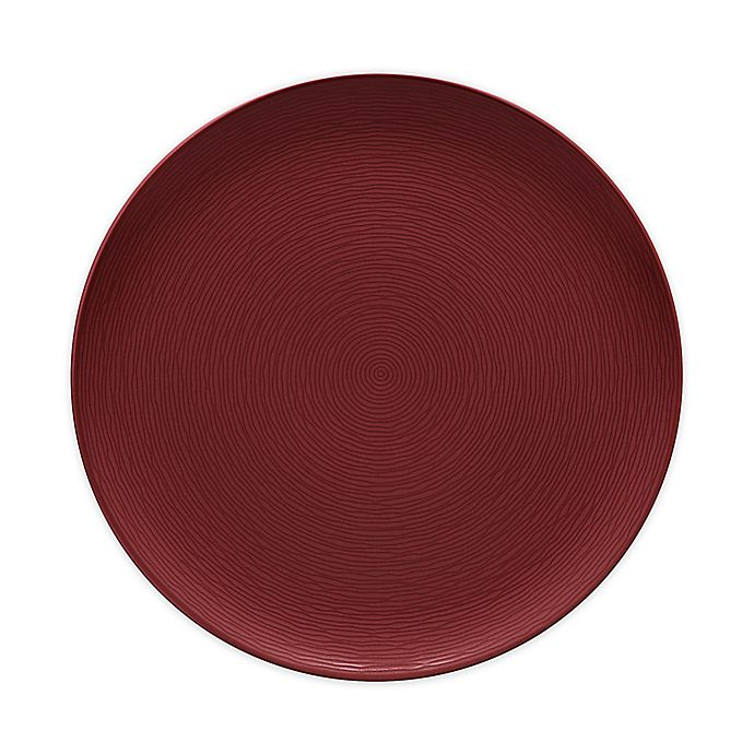 Alternate image 1 for Noritake® Red on Red Swirl 12.25-Inch Round Platter