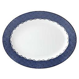 Lenox® Blue Pointe 13-Inch Oval Platter