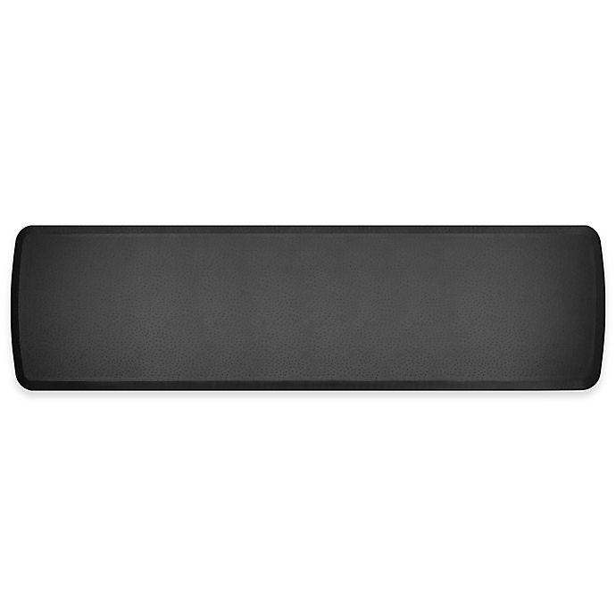 Alternate image 1 for GelPro Elite Quill 20-Inch x 72-Inch Kitchen Mat in Black