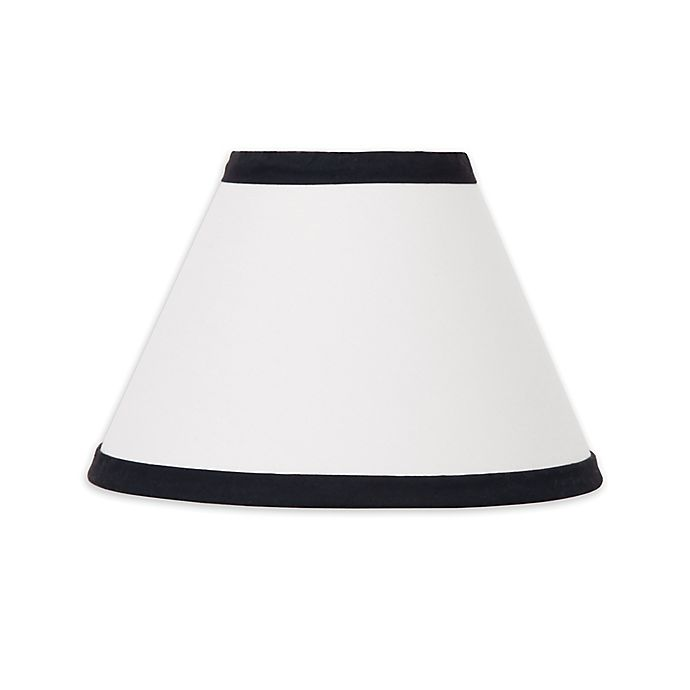 Alternate image 1 for NoJo® Dreamer Lamp Shade in Black/White