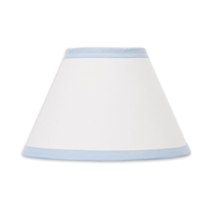 Alternate image 1 for NoJo® Dreamer Lamp Shade in Blue/White