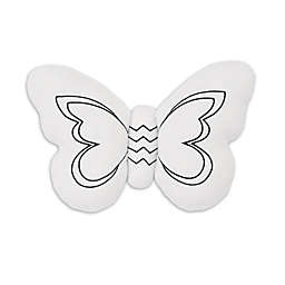 NoJo® Dreamer Plush Butterfly in White and Black