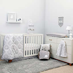 NoJo® Dreamer Diamond 8-Piece Crib Bedding Set in Grey